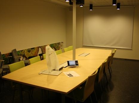 Conference Room Luppo. Photo: Metsähallitus/Mika Siitonen