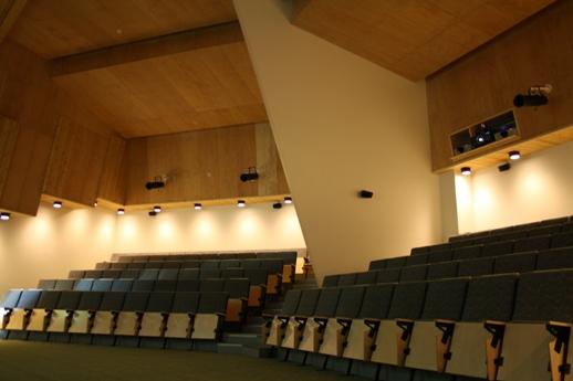 Naava's auditorium. Photo: Metsähallitus/Mika Siitonen