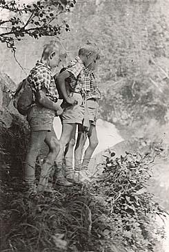 Kansallispuistohaaveet toteutuivat vuoden 1956 lopulla, jolloin säädettiin laki Oulangan kansallispuistosta. Kuva Ebba Ahonen.