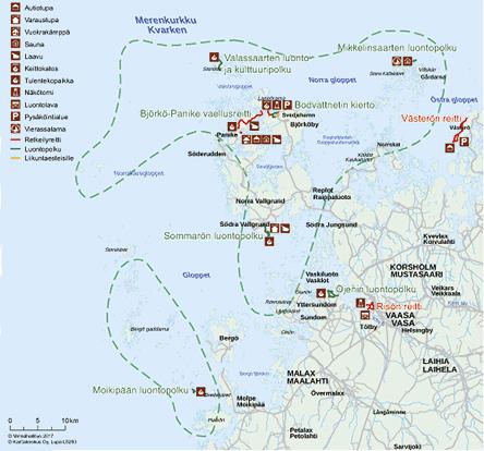 Merenkurkun Kulkuyhteydet Ja Kartat Luontoon Fi