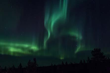 Aurora borealis. Photo: Juha Kaipainen