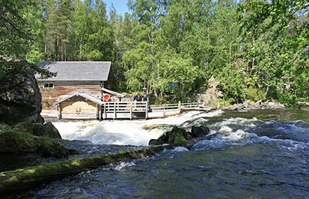 Myllykoski hut is an old mill. Photo: Minna Koramo