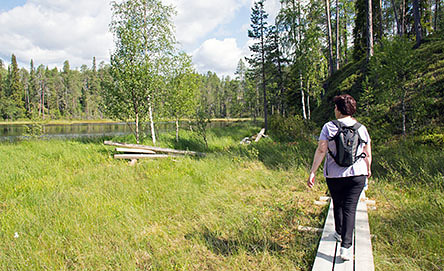 Pieni Karhunkierros is a day-hiking trail. Photo: Siru-Leena Mukkala