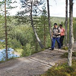 Könkään keino-leden. Bild: Susanna Kolehmainen/Forststyrelsen