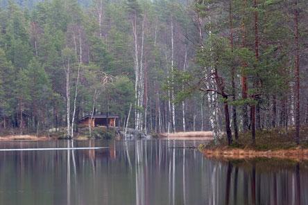 Vahterjärven tulentekopaikka. Kuva: Timo Nieminen.