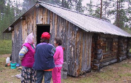 Oskarikoski Skolt Homestead. Photo: Aini Magga, Metsähallitus