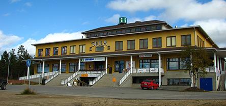 Saariselkä Customer Service Kiehinen. Photo: Ninni Raasakka, Metsähallitus