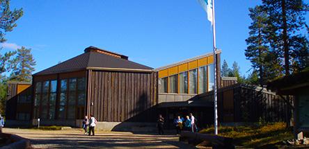 Tankavaara Visitor Centre. Photo: Aini Magga, Metsähallitus