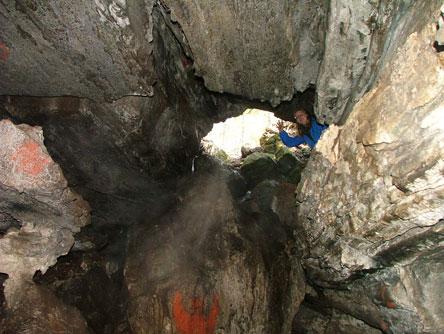 Torhola grotta. Bild: Elina Pilke