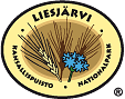 The Emblem of Liesjärvi National Park - Cornflower and an ear of rye