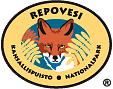 The Emblem of Repovesi National Park - Red Fox