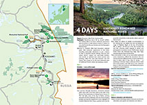 Kuusamo's renowned national parks