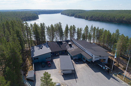 Hossa Visitor Centre. Photo: Hannu Huttu