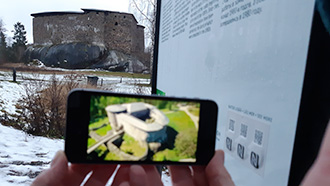 Mobile guide for Kuusisto Bishop's Castle Ruins, Raseborg Castle Ruins and Vallisaari Island.