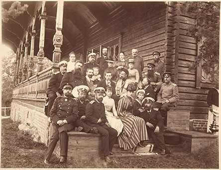 Members of the Russian imperial family at Langinkoski. Photo: The Historical Picture Collections, National Board of Antiquities.