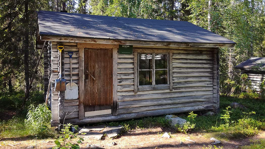 Yliluosto open wilderness hut. Photo: Joonas Katajisto