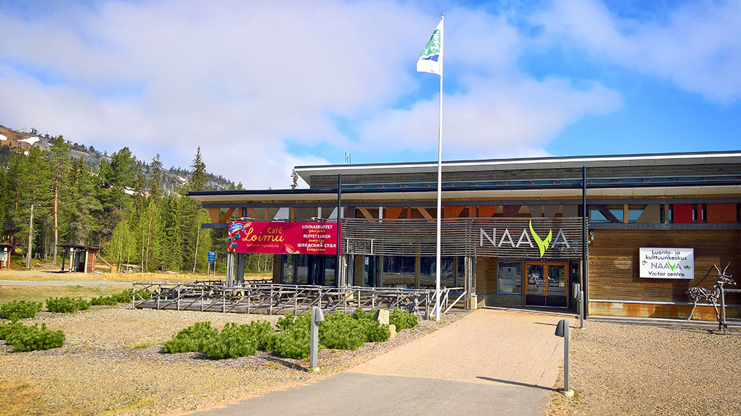 The trails start in Pyhä at Visitor Centre Naava. Image: Anna Pakkanen