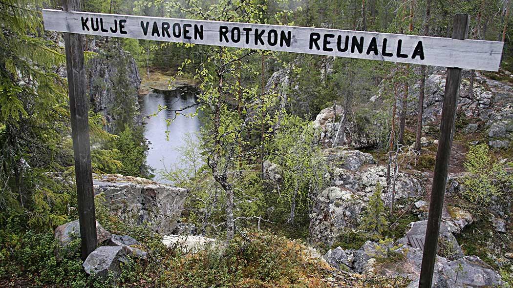Hiidenportin ohjeet ja säännöt - Luontoon.fi ba49025a11