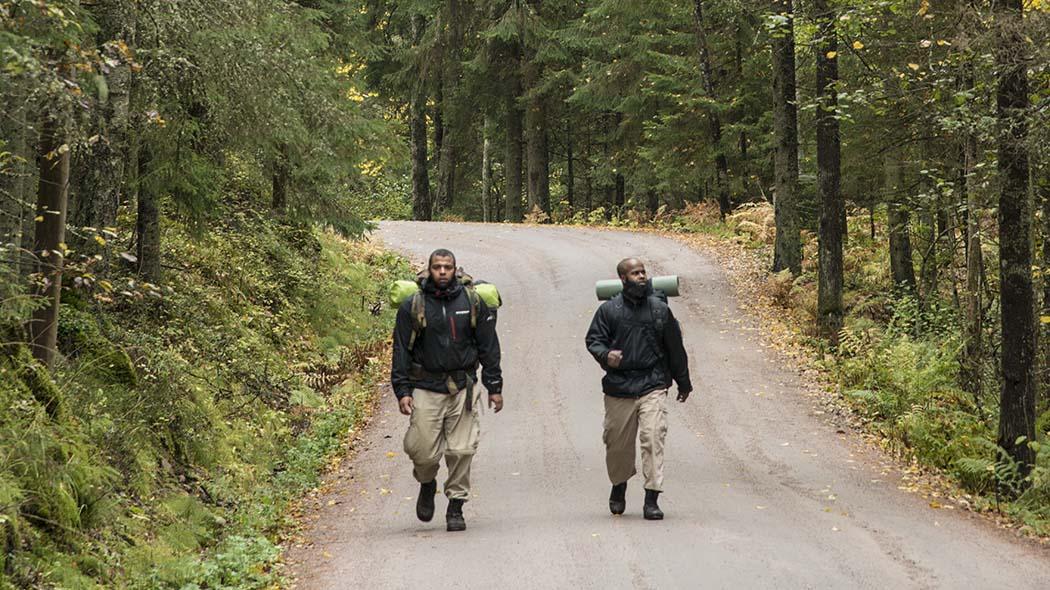 Hikers at Nuuksio. Photo: Mauri Leivo.