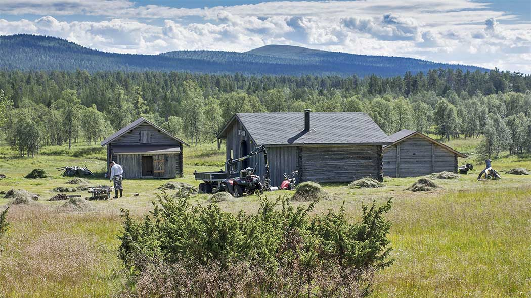 The old Puolitaipale forest ranger estate is taken care of as a heritage environment. Photo: Seija Olkkonen.