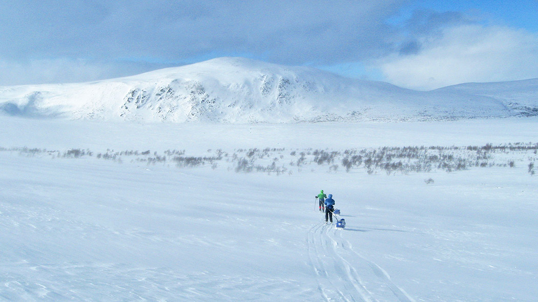 The uplands of the Käsivarsi fell area are perfect for true wilderness hike enthusiasts. Photo: Olli Vainio.