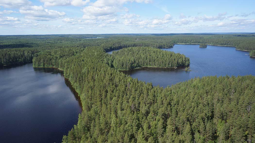 half off dfc68 982ec Paistjärven aluetta ilmasta käsin. Kuva  Tuomo Häyrinen.