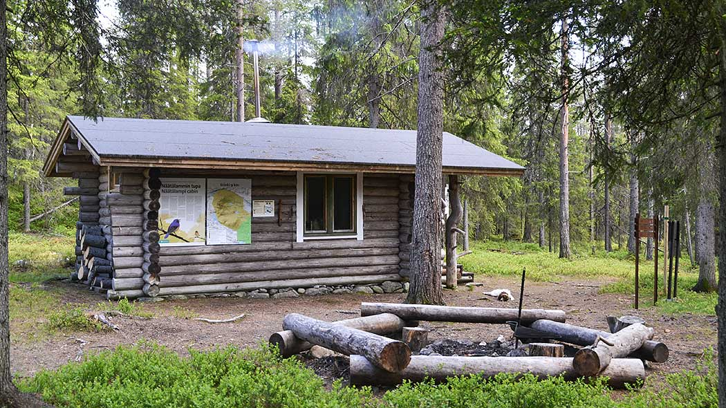 Some huts in National Parks are always unlocked and meant for all, while some of them can be reserved for your party only. Photo: Satu Pietilä